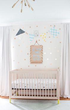 Nursery Ideas With Cricut - Lay Baby Lay Gold Nursery, Nursery Neutral, Nursery Room, Neutral Nurseries, Kids Bedroom, Bedroom Ideas, Nursery Themes, Nursery Decor, Wall Decor