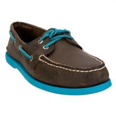 Sperry Top-Sider Authentic Original Boat Shoe #VonMaur #Sperry #Brown #Blue