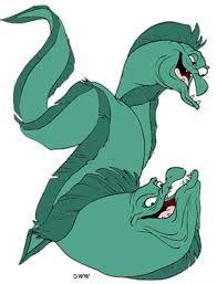 Flotsam and Jetsam- Little Mermaid