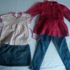 Girls Bundle aged 4-5 years. Summer season at www.little-wardrobe.co.uk