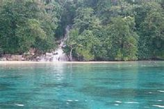 Dunn's River Falls, Jamaica  ask me what happened here.....