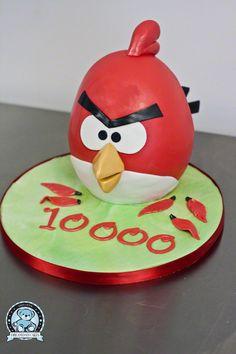 Angry Birds Cake 07 cakepins.com