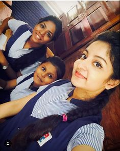 Ishaani krishna School Gril, School Girl Dress, Girl Fashion, Fashion Outfits, Krishna, Desi, Girls Dresses, Indian, Selfie