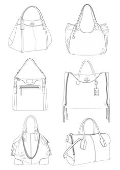 Purse Design Sketch Fresh 152 Best Draw It Images Photos Fashion Design Drawings, Fashion Sketches, Drawing Fashion, Fashion Flats, Look Fashion, Flat Sketches, Flat Drawings, Technical Drawings, Dress Sketches