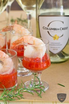 Butter Poached Shrimp Cocktail with Roasted Pepper Cocktail Sauce at http://www.cookthestory.com
