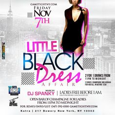 This Friday Nov 7th at Katra NYC Katra NY - Katra Lounge NYC Remix Fridays w NYC Hottest Djs - Little Black Dress affair with Dj Spanky! Get on the Gametight Guestlist or Celebrate you or your friends birthdays for FREE!  $400 Bottle Package BEFORE 12:30 AM (Not upgradeable) 2 - .750ml reg or flavored CIROC bottles All tax & tip is included Express entry into the club (no waiting in line 6 People)(Add $50 Extra for 1 bottle of champagne & 1 flavored hookah)