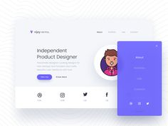 Freebie - Sitica Landing Page Concept designed by vijay verma. Connect with them on Dribbble; the global community for designers and creative professionals. Gui Interface, User Interface Design, App Ui Design, Web Design Company, Quiz Design, Flat Design, Logo Design, Graphic Design, Creative Web Design