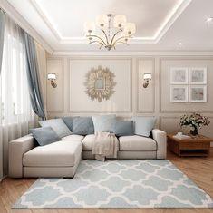 Ceiling Design Living Room, Living Room Decor Cozy, Elegant Living Room, Classic Living Room, Home Room Design, Living Room Modern, Home Living Room, Interior Design Living Room, Living Room Designs