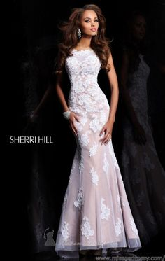 Cap Sleeved Open Back Gown by Sherri Hill Prom Dress 2014 05a104f75