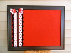Spirit Magnetic Board NCSU 18x24 by BurlapandLaceBoards on Etsy, $65.00