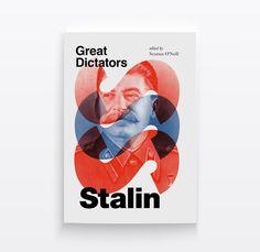 Great Dictators Book Cover Series by Amrita Marino