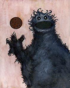 Cookie Monster by tioandria via deviantart