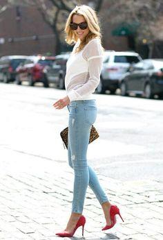 Skinny jeans #StylingOn #GetStyled #StylistOnDuty #Fashion #City #Chic