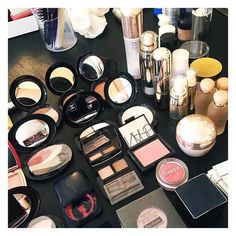 Getting rid of the old make up (to make room for new!) #cleaning #decluttering #makeup #chanel #nars #shiseido
