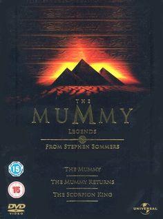 The Mummy/the Mummy Returns/the Scorpion King DVD: Amazon.co.uk: Brendan Fraser, Rachel Weisz, John Hannah, Arnold Vosloo, The Rock: Film & TV
