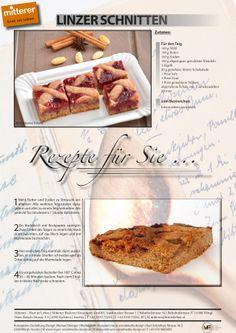 Rezept: Linzer Schnitten | Mitterer – Brot ist Leben