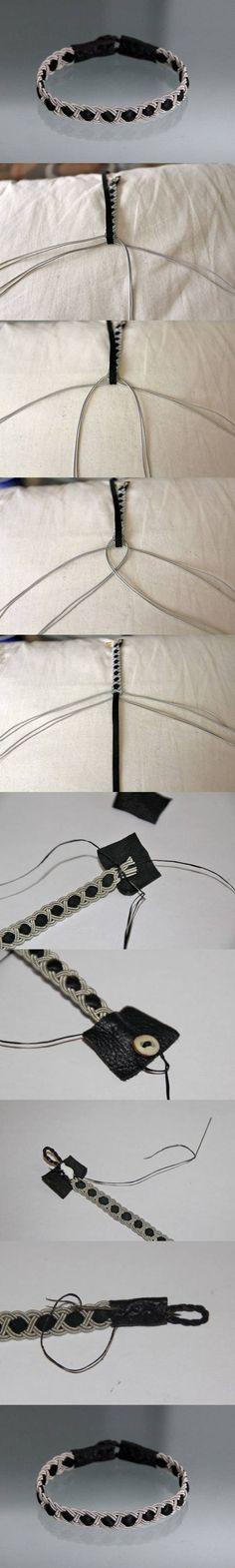 DIY可爱手绳