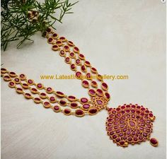 Ruby Long Necklace