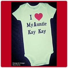 Baby girl clothes love my aunt love my uncle by livandcompanyshop i love my aunt auntie baby outfit aunt baby shirt personalized baby clothes gift for niece gift for nephew newborn baby gift liv co negle Gallery