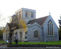 St Mary's church Kingsclere Hampshire, a magnificent minster church in the heart of this small village.