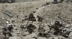 Jeff Wall, Dead Troops Talk (A Vision After an Ambush of a Red Army Patrol near Moqor, Afghanistan, Winter 1986)