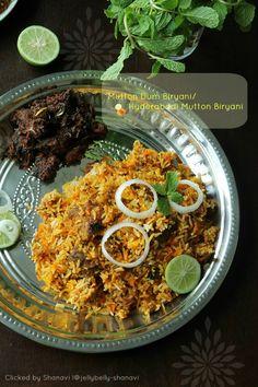 Kitchen Secrets and Snippets: Mutton Dum Biryani/Hyderabadi Mutton Biryani