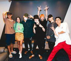 Bts reunite with Halsey in Seoul Halsey, Foto Bts, Bts Photo, Bts Bangtan Boy, Bts Boys, Bts Jimin, Suga Suga, Jhope, Boy Scouts