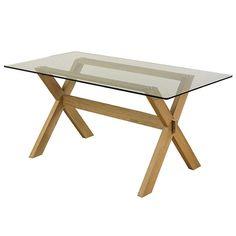 BuyJohn Lewis Gene Rectangular 6-Seater Dining Table Online at johnlewis.com