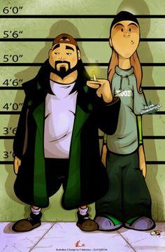jay and silent bob <3