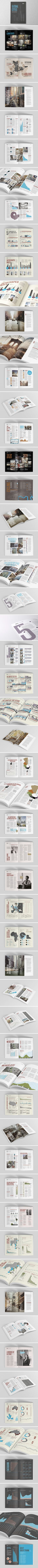 \\\ Knight Frank - Global Cities Report by The Design Surgery \\\ Editorial design magazine / revista / infografia / infographic. Booklet Design, Book Design Layout, Print Layout, Graphic Design Layouts, Brochure Design, Graphic Design Inspiration, Editorial Design, Editorial Layout, Magazin Design