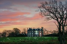 Hunterston House Sunset by g crawford, via Flickr Scotland in the Gloaming Blog