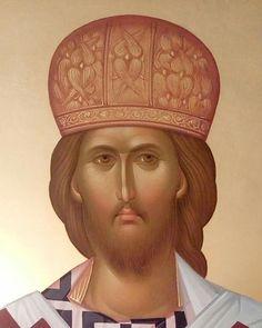 Religious Icons, Religious Art, Byzantine Art, Art Icon, Orthodox Icons, Jesus Christ, Savior, Pictures To Draw, Christian Faith