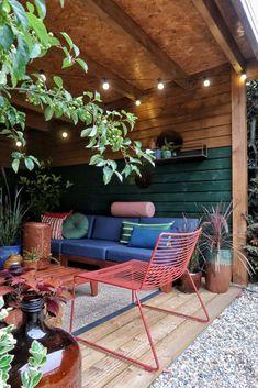 Outdoor Sofa, Outdoor Living, Outdoor Furniture Sets, Outdoor Decor, Backyard Garden Design, Garden Styles, Garden Planning, Pergola, Sweet Home