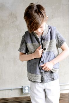 Simple modern classics for kids cool fashion by ESP.No 1 fall 2014 kidswear