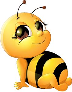Bee baby cute vector set 03