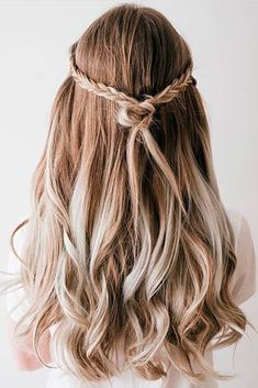 Braided Half Up Half Down Prom Hairstyles picture3