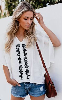 bd07bc38c7 143 best Designing - Tops images in 2019 | Embroidery, Embroidered ...
