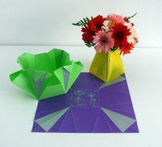 MAKA shop   Foldable Flower Vase by Georges Moanack