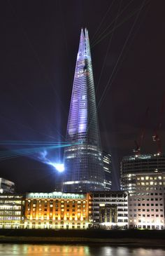 The Shard, London's newest skyscraper. Tallest building in Europe.
