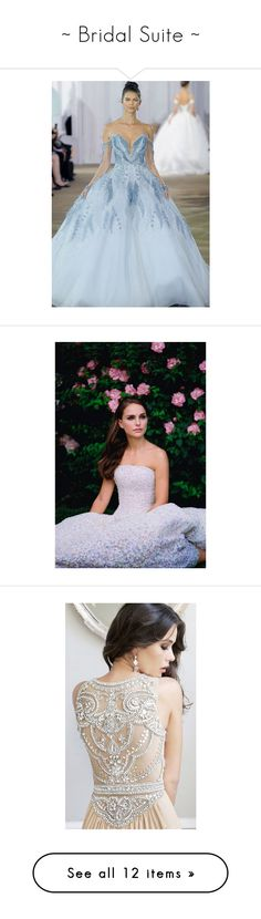 """""""~ Bridal Suite ~"""" by romantiquechic ❤ liked on Polyvore featuring people, natalie portman, pictures, models, person, jewelry, earrings, bridal chandelier earrings, round diamond earrings and chandelier earrings"""