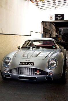 Awesome Cars sports 2017: Aston Martin DB7 with a DB4 GT zatago kit...  Aston Martin