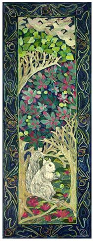 Deep Woods - beautiful pattern by Michele Micarelli