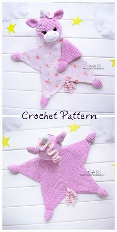 Crochet pattern part PATTERN Cotton comforter Series 5 Crochet Security Blanket, Crochet Lovey, Lovey Blanket, Crochet Patterns Amigurumi, Crochet Gifts, Baby Blanket Crochet, Crochet Dolls, Easy Crochet Patterns, Baby Patterns