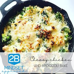 Mindset Approved Cheesy Chicken and Broccoli Bake! - Mindset Approved Cheesy Chicken and Broccoli Bake! Chicken Broccoli Bake, Broccoli Recipes, Cheesy Chicken, Chicken Recipes, Broccoli Diet, Frozen Broccoli, Broccoli Casserole, Healthy Breakfast Recipes, Clean Eating Recipes