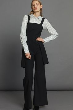 Relay Jumpsuit - Black Minimal Beauty, Aw17, Black Jumpsuit, Winter White, Luxury Fashion, Dressing, Normcore, The Incredibles, Collection