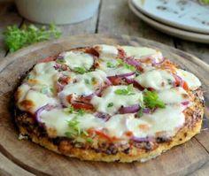 Low Calorie Cauliflower Pizza Crust