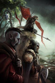 3rd place winner of the Elder Scrolls Online poster challenge: Minttu Hynninen, from Finland