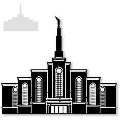 *Some detail may need to be removed if using on a small scale* The Church of Jesus Christ of Latter-Day Saints holy temple. A Snapdragon Snippets design. Paper Bead Jewelry, Paper Beads, Beaded Jewelry, Lds Primary, Lds Church, Lds Temples, Silhouette Design, Young Women, Paper Cutting