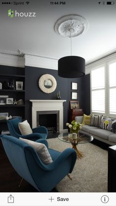 Nice Colors Added Clapham Family Home   Contemporary   Living Room   London    Chantel Elshout Design Consultancy