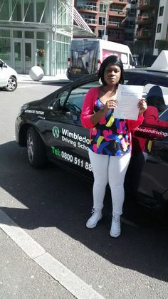 Well done to Sophia from #Battersea who passed her test in #Morden